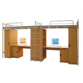 Giường tầng sắt sinh viên